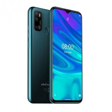 "Смартфон Ulefone Note 9P Green, Android 10, 6.52"" HD+ дисплей, 4GB + 64GB памет"