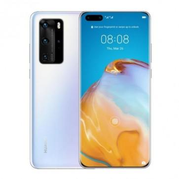 Смартфон Huawei P40 Pro Ice White, 256GB ROM, 8GB RAM, 50 MP SuperSensing Quad камера