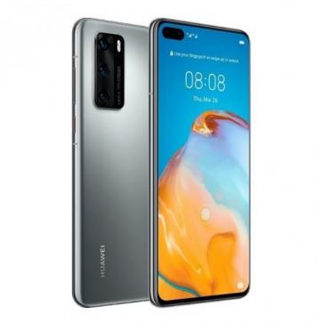 Смартфон Huawei P40 Pro Silver Frost, 256GB ROM, 8GB RAM, 50 MP SuperSensing Quad камера