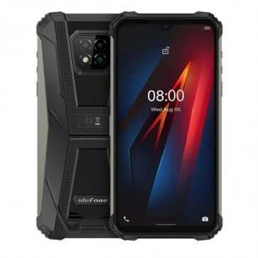 "Смартфон Ulefone Armor 8 Pro Black, 8GB+128GB, Android 11, IP68/IP69K, 6.1"" HD+ дисплей"