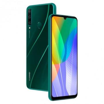 "Смартфон Huawei Y6p Green, 6.3"", 3+64GB, 13MP triple camera"