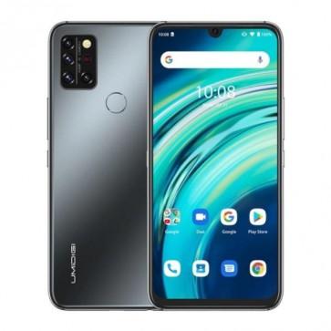 """Смартфон Umidigi A9 Pro Black, 6+128GB, 6.3"""", 4150mAh + силиконов кейс. Официален внос, 2г. гаранция, Безплатна доставка."""
