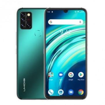 """Смартфон Umidigi A9 Pro Green, 8+128GB, 6.3"""", 4150mAh + силиконов кейс, Официален внос, 2г. гаранция, Безплатна доставка."""