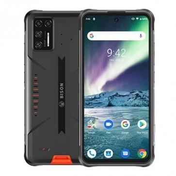 """Смартфон Umidigi Bison Orange, 6+128GB, 6.3"""", 5000mAh, IP68/69K, Официален внос, 2г. гаранция, Безплатна доставка."""