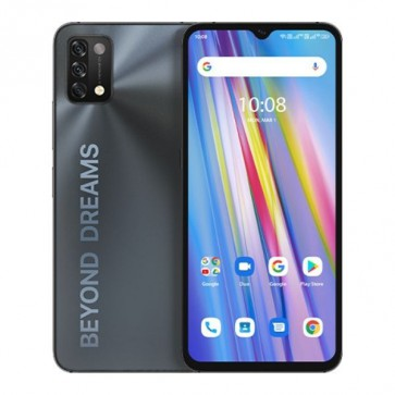 """Смартфон Umidigi A11 Black, 4+128GB, 6.53"""", 5150mAh батерия, инфраред термометър"""