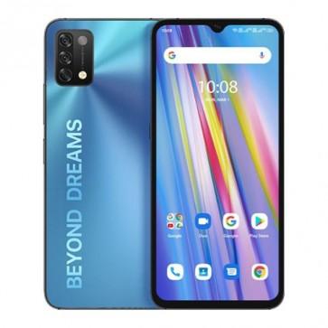 """Смартфон Umidigi A11 Blue, 4+128GB, 6.53"""", 5150mAh батерия, инфраред термометър"""