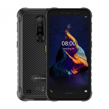 "Смартфон Ulefone Armor X8 Black, Android 10, 13MP тройна камера, 5,7"", 4+64GB"