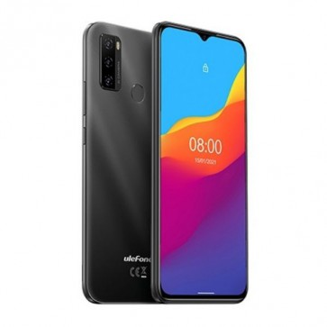 "Смартфон Ulefone Note 10 Black, Android 11 GO, 16MP тройна камера, 6,55"",2+32GB"