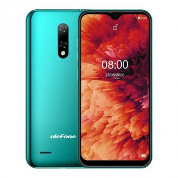"Смартфон Ulefone Note 8P Green, Android 10, 5.5"" FW дисплей, 2GB + 16GB"
