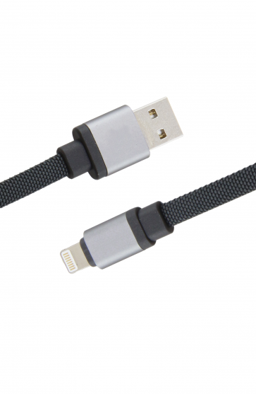 Luxo Canvas Type-C USB Cable-Gray