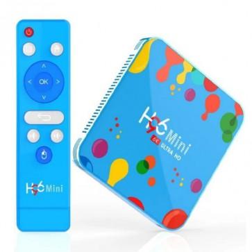 Smart TV Box H96 Mini , Android 9.0,SDRAM 4+128 GB , 6k Video