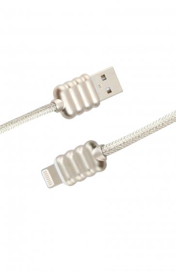 Luxo Ripple Lightning USB Cable-White