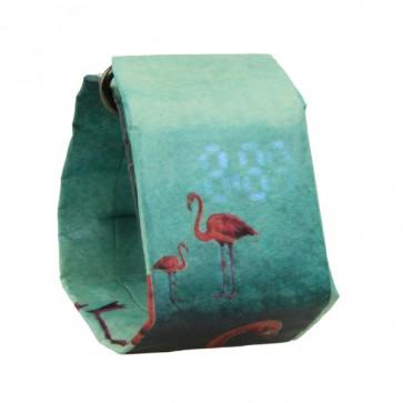 Art Watch, цифров часовник,waterproof, лек и елегантен, подходящ за деца и жени, Flamingo