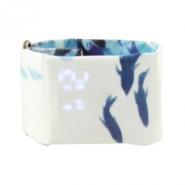 Art Watch, цифров часовник,waterproof, лек и елегантен, подходящ за деца и жени, Dolphins