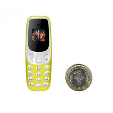 Tiny star mini, Yellow, мобилен телефон, Handsfree, Bluetooth, Dual sim