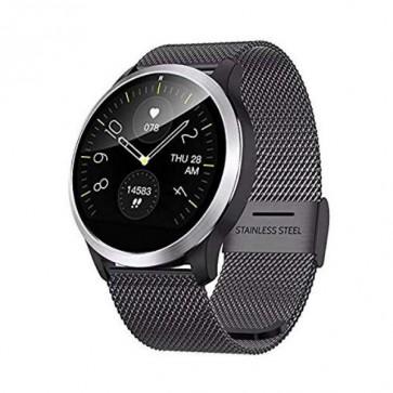 Смарт часовник, Smartwatch Lemfo Z03 Black, 180mAh Battery, 1.22 inch IPS 240*240, IP68