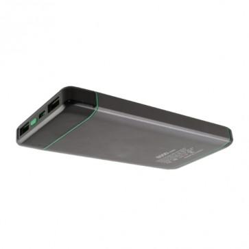 Външна батерия Smart Power SKM1008 Power bank 8000 mAh, с фенерче, Micro input charging, 1 USB изход, Черна