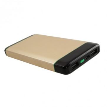 Външна батерия Smart Power SKM1008 Power bank 8000 mAh, Micro input charging, 1 USB изход, Златиста