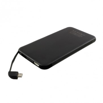 Външна батерия Smart Power C0502 Power bank 4000 mAh, Черна