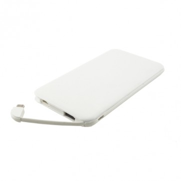 Външна батерия Smart Power C0502 Power bank 4000 mAh, Бяла