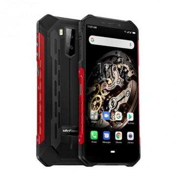 Ulefone Armor X5 Red, IP68/IP69K, Подводна Камера, Android 9.0 + Подарък стъклен протектор