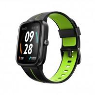 "Смарт часовник Ulefone Watch GPS Black+Green, водоустойчив, 1.3"""