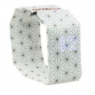 Art Watch, цифров часовник, лек и елегантен, подходящ за деца и жени, 3D Black and White