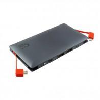 Външна батерия Smart Power ZG-096B Power bank 10000 mAh, Micro input charging, 1 USB изход, Черна