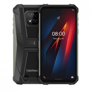 "Смартфон Ulefone Armor 8 Black, Android 10, IP68/IP69K, 4GB+64GB, 6.1"" HD+ дисплей"