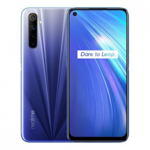 "Смартфон Realme 6 Blue, Android 10, 4300mAh, Helio G90T, 6,5"",4+64GB"