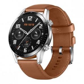 "Смарт часовник Huawei GT 2 Pebble Brown, 1.39"" Amoled, 4GB, 50m water resistant"