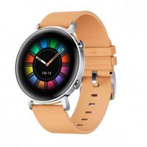 "Смарт часовник Huawei GT 2 Gravel Beige, 1.39"" Amoled, 4GB, 50m water resistant"