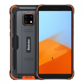 "Смартфон Blackview BV4900  Pro Orange, Android 10, 8MP тройна Samsung камера, 5,7"", 4+64GB"