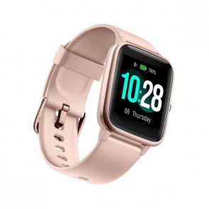Смарт часовник Ulefone Watch Pink, водоустойчив, 1.3""