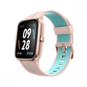 Смарт часовник Ulefone Watch GPS Pink+Blue, водоустойчив, 1.3""