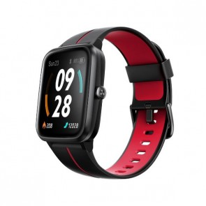 "Смарт часовник Ulefone Watch GPS Black+Red, водоустойчив, 1.3"""