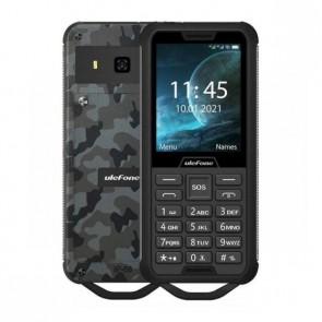 """Екстремен мобилен телефон Ulefone Armor Mini 2 Camouflage, с голяма батерия, 2.4"""" дисплей и камера"""