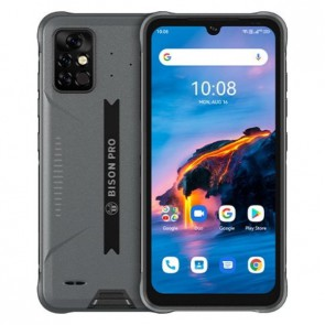 "Смартфон Umidigi Bison Pro Gray, 8+128GB, 6.3"" FHD+, 48MP Sony Camera"