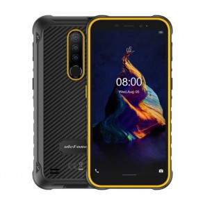 "Смартфон Ulefone Armor X8 Orange, Android 10, 13MP тройна камера, 5,7"", 4+64GB"