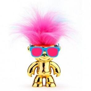 Танцуващ детски робот WowWee Elektrokidz златист, включени батерии, танцуваща коса