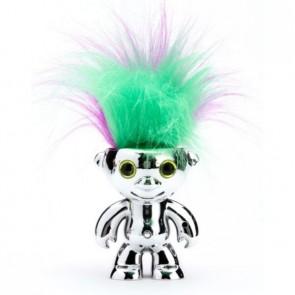 Танцуващ детски робот WowWee Elektrokidz сребрист, включени батерии, танцуваща коса