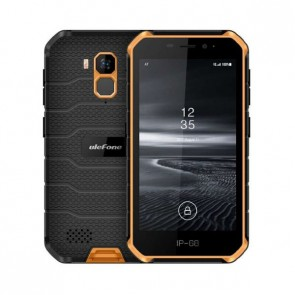 "Смартфон Ulefone Armor X7 Orange, Android 10, IP68/69K, 5.0"" HD дисплей"