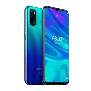 "Смартфон Ulefone Note 9P Aurora Blue, Android 10, 6.52"" HD+ дисплей, 4GB + 64GB памет"