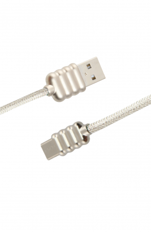 Luxo Ripple-Type-C-USB-Cable-White