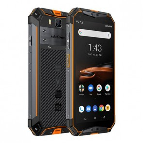 Ulefone Armor 3W Orange, Смартфон,10300 mAh, Sony 21 MP Camera, NFC+Android Pay, Under water camera