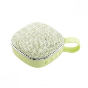 Преносима колонка Bluetooth speaker Smartfonix X25, 3 W, Зелена