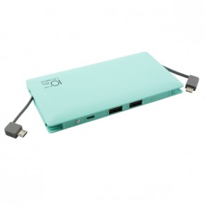 Външна батерия Smart Power ZG-096B Power bank 10000 mAh, Micro input charging, 1 USB изход, Зелена